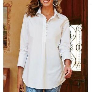 Soft surroundings Penelope Shirt Size M
